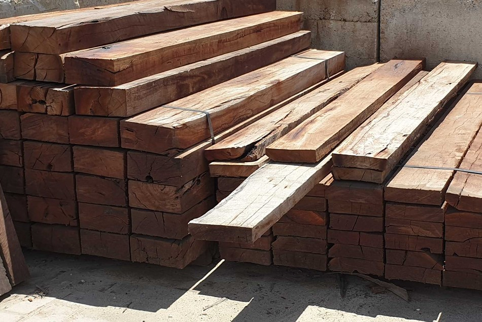 Red Gum Hardwood Sleeper 100mm