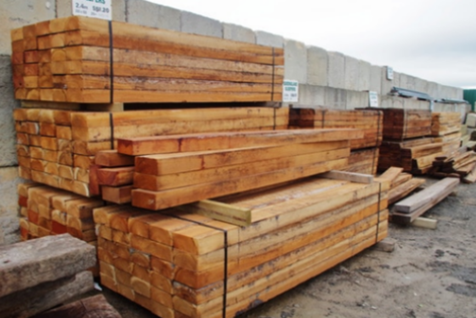 Queensland Hardwood Sleeper 100mm